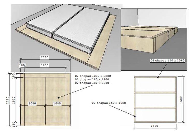 Passo a Passo de uma cama Tatame . http://homensdacasa.net/nova-casa-da-lari-6-como-fazer-cama-tatame/