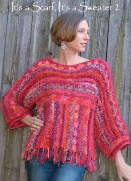 Make a sweater out of three rectangles. Looks like an easy pattern for my first pullover.