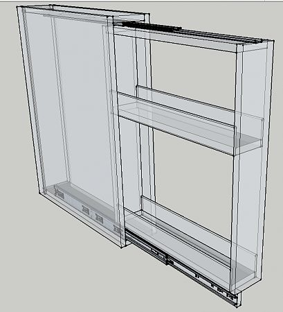 sliding spice rack plans | Cabinetmakers! Advise slide hardware for a spice pullout kit-2012-03 ...