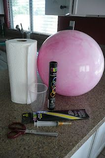How to make a glow in the dark ball