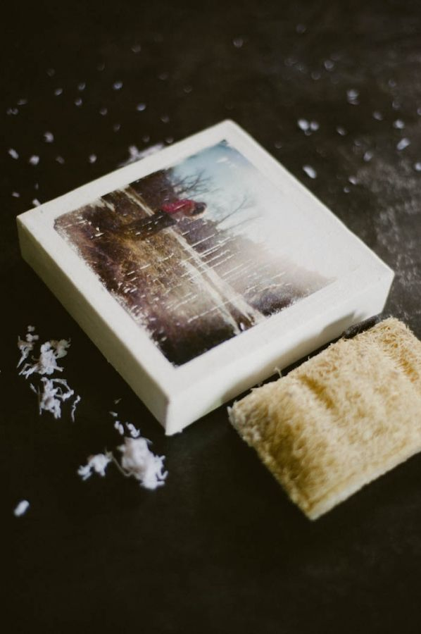 DIY canvas photo tutorial:  What you'll need:  - A canvas (start with a 5×5 size. The small sizes are much easier and more forgiving to start out on)  - Gel Medium (I use Liquitex, but any brand will do)  - A brush  - Furniture Polish  - A Xerox copy of your photo (remember it will be mirrored once it's on the canvas)  This is a more 'vintage' look then a regular photo canvas.