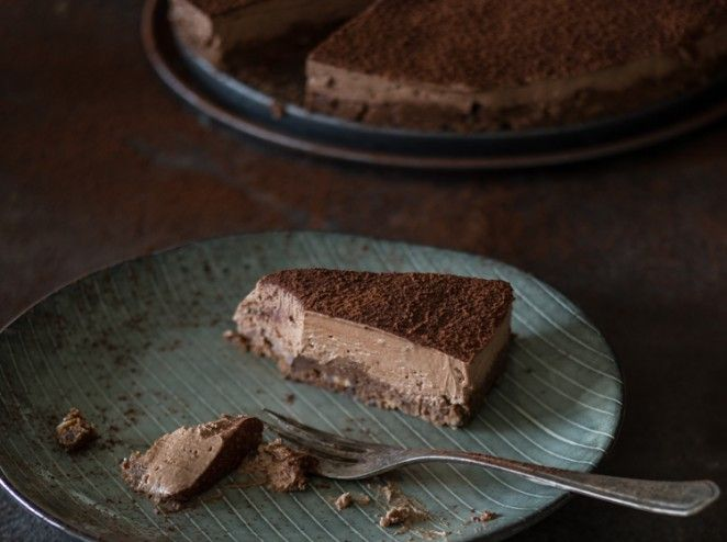 Schokoladen-Käsekuchen ohne Backen_mag