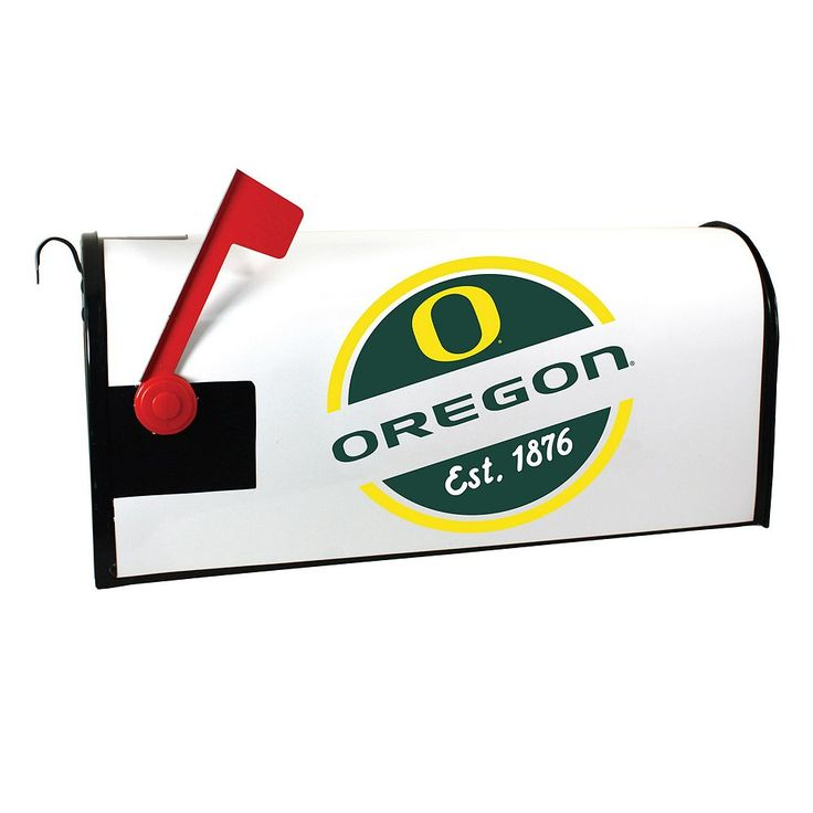 Oregon Ducks Magnetic Mailbox Cover, Multicolor