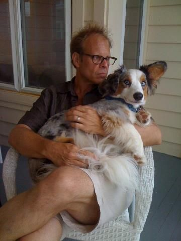 Alton Brown and Sparky