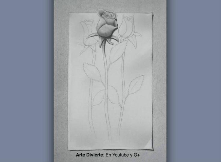 Cómo dibujar una rosa en 3D - Dibujando rosas  #arte #dibujo #Artedivierte #rosa #flores #tutorial #artistleonardo #LeonardoPereznieto  Haz clíck aquí para ver mi libro: http://www.artistleonardo.com/#!ebooks/cwpc