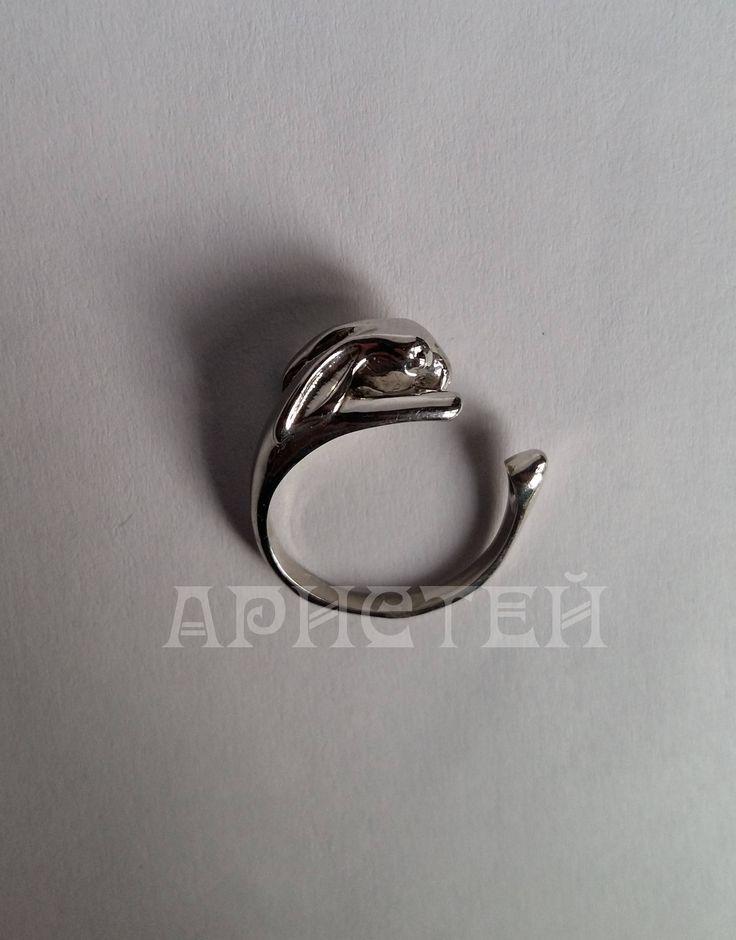 """Ring """"Rabbit"""" by ARISTEY on Etsy"""