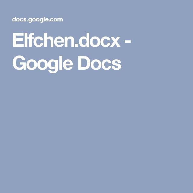 Elfchen.docx - Google Docs
