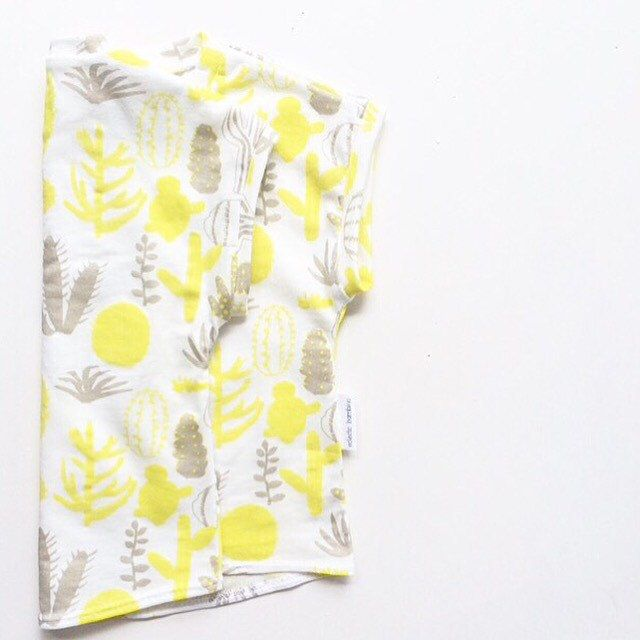 CACTUS LOVE    Prickly, yellow and delightful, this little tee is perfect for little people who love spending Autumn days outdoors