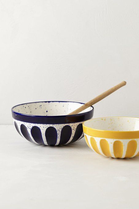Dulcie Mixing Bowl by Anthropologie