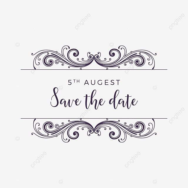 Vintage Style Save The Date Ornament Vector Vintage Abstract Shape Png And Vector With Transparent Background For Free Download In 2020 Save The Date Designs Save The Date Illustrations Vintage Save