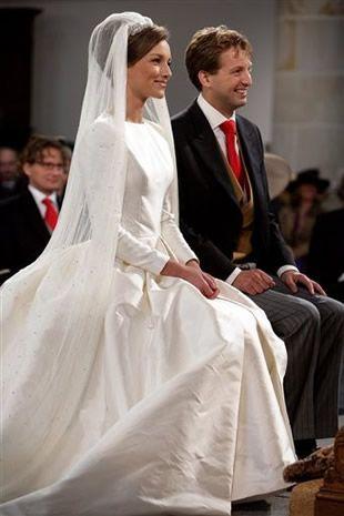 Prince Floris of Orange-Nassau, van Vollenhoven married to Aimée Söhngen on 22 Oct 2005 at the Grote Kerk in Naarden