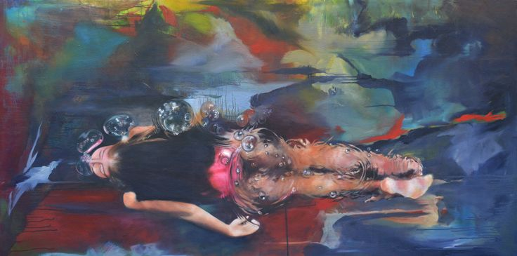 Oil Painting - Below the Surface (Abstract/Realism)