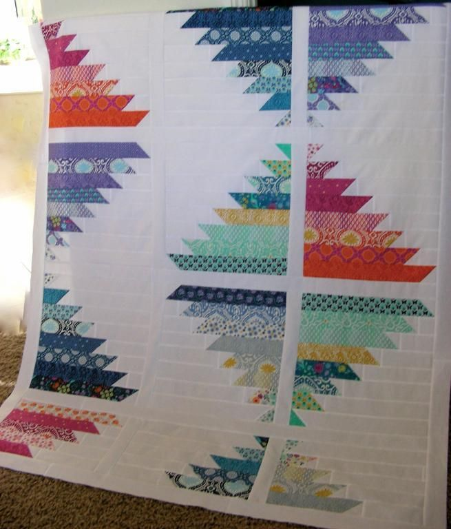 Quilting: Modern Quilt 2 - 'Lost City': Modern Logs Cabins, Quilts Modern, Blocks Ideas, Jelly Rolls, Quilting Projects, Lost Cities, Quilts Ideas, Modern Quilts Patterns, Quilts Projects