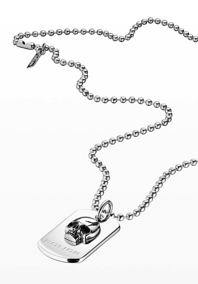 33 best mens jewelry images on pinterest mens jewelry diesel mens skull tag necklace by police italy httppolicelifestyle aloadofball Gallery