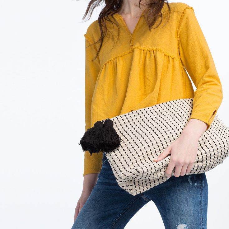 FABRIC CLUTCH-View all-BAGS-WOMAN | ZARA United States