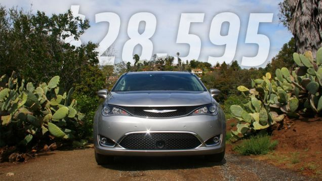 I just got back from the lavish 2017 Chrysler Pacifica first-drive event, and while I'm embargoed from talking in too much detail about the car or how it drives just yet, I can tell you how much it'll cost: between $28,595 and $42,495.