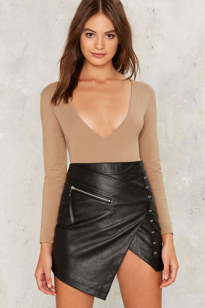 Nightwalker Snatching Body Plunging Bodysuit   Shop Clothes at Nasty Gal!