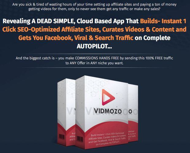 Vidmozo Pro Version By Dr. Amit Pareek is best revolution cloud based software that automates video and content curation, builds eye catchy sites & also drives tons of laser targeted real traffic from search & facebook to build your leads & commissions on autopilot.  #vidmozo #videomarketing #traffic #contentmarketing #affiliatemarketing #socialmediamarketing #seo #viral