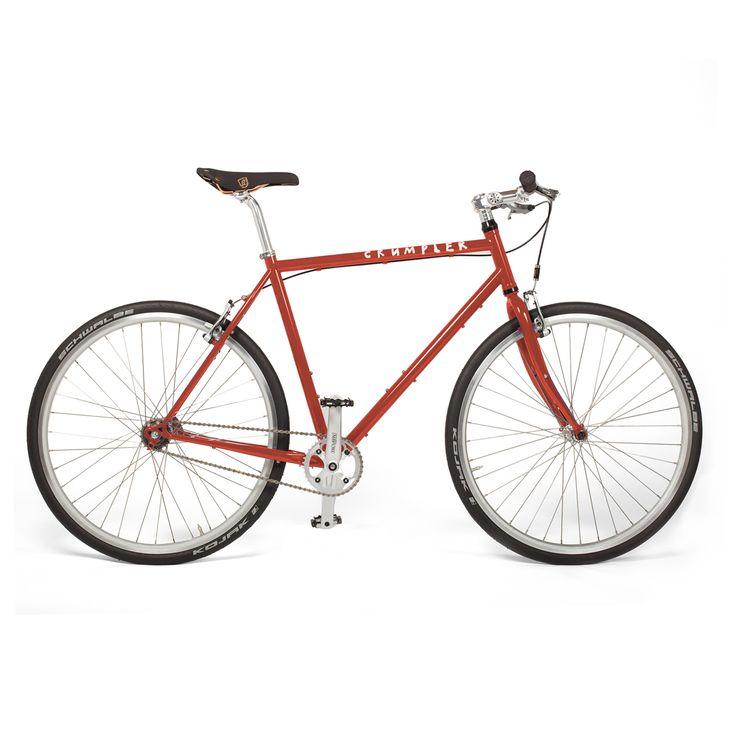 Crumpler Mens Bike - S - 50cm Frame - Red