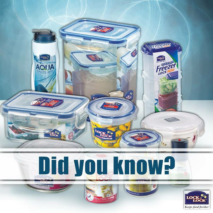 Did you know?   Lock & Lock Containers are available in more 200 sizes in different Shapes, capacity ranging from 100 ml. to. 21 litres #suits every Indian Homes.