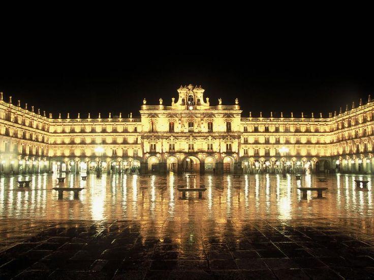 Plaza Mayor de Salamanca, Spain. Preciosa