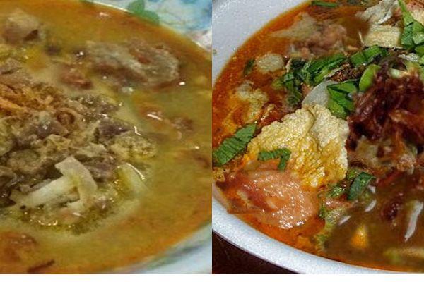 Aneka masakan tradisional bahan daging kambing