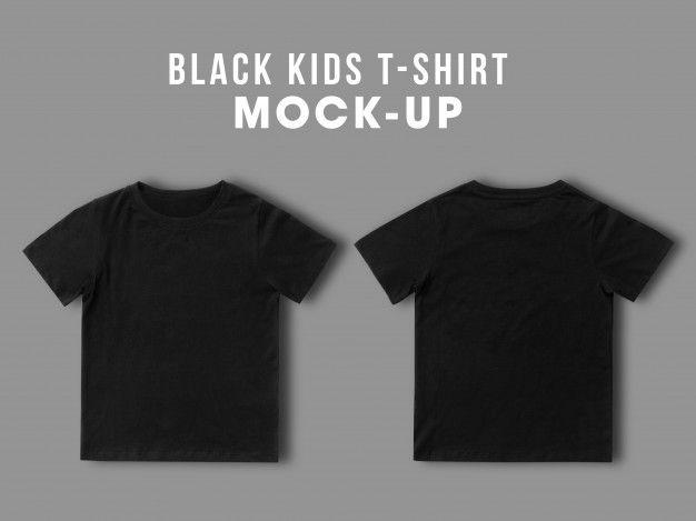 Download Blank Black Kids T Shirt Mock Up Templat Premium Psd Freepik Psd Mockup Design Kids Template T Shirt Design Template Kids Tshirts Shirt Designs