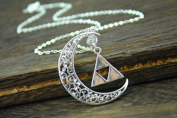 the legend of zelda jewelry crescent necklace $11.40 – Amy Fraser