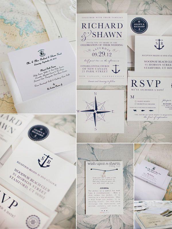 Nautical Style Wedding Ideas for Wedding 2014 | https://www.vponsalewedding.co.uk/nautical-style-wedding-ideas-for-wedding-2014/