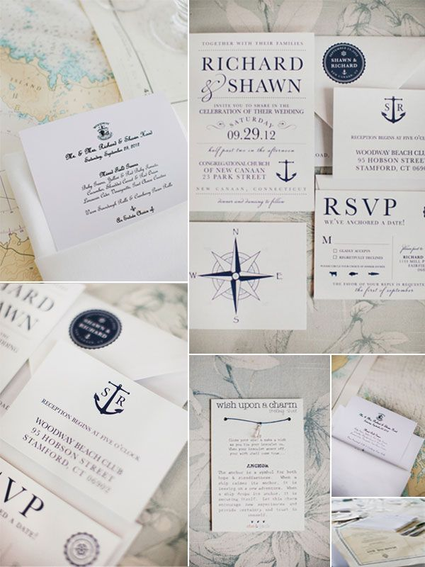 Nautical Style Wedding Ideas for Wedding 2014 | http://www.vponsalewedding.co.uk/nautical-style-wedding-ideas-for-wedding-2014/