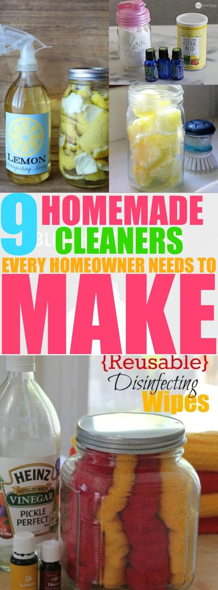 You have to try these homemade cleaners! They are safe and work great!