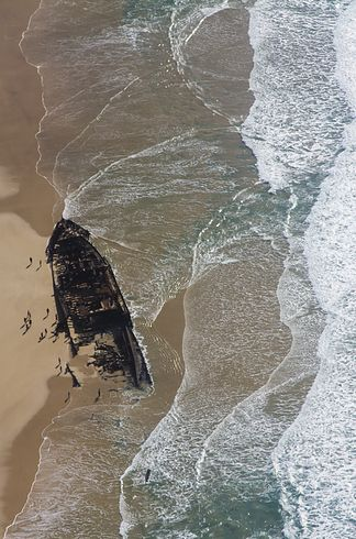 Maheno Ship Wreck. Fraser Island. Australia. The beaches of Fraser Island | 34 Reasons Australia Is The Most Beautiful Place On Earth.
