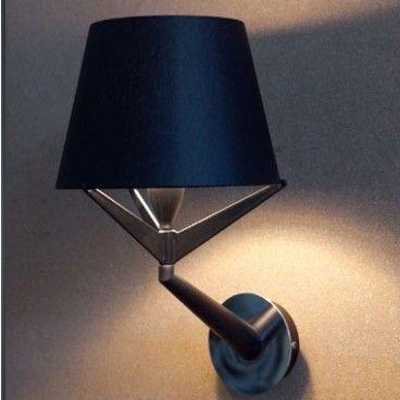 Wall S zwart/zilver van Axis71 Wandlamp keuken 2x