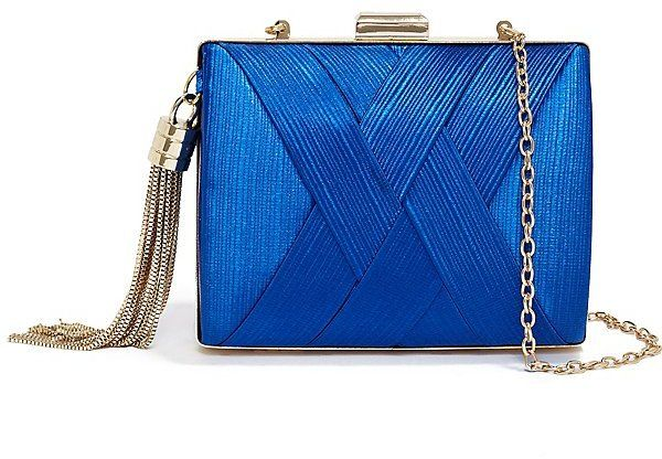 GUESS by Marciano Pleated Satin Minaudiere on shopstyle.com