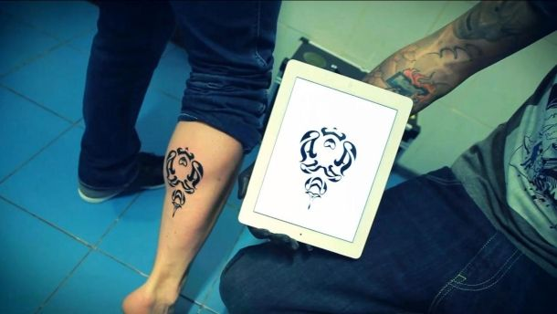 Instattoo: Developer uses own app to design his tattoo | Crave - CNET