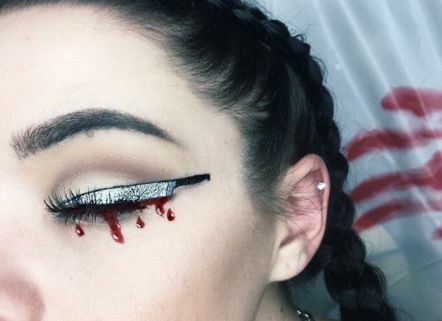 Knifeliner is the only glam-gruesome makeup you need this Halloween | Metro News
