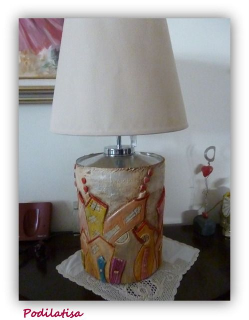 Table lamp by clay