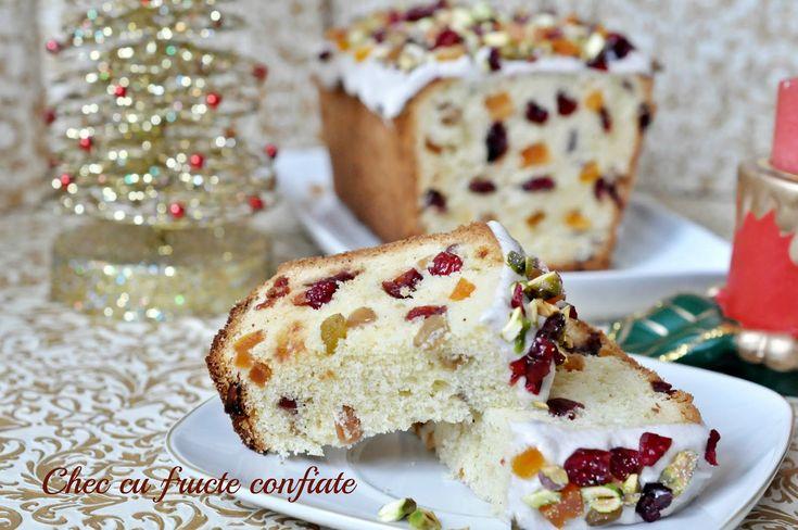 Alături de cafeaua din dimineaţa de Crăciun ce spuneţi de o felie de chec cu fructe confiate?           Iată ce vă trebuie pentru prepa...