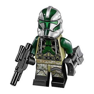 LEGO Star Wars Minifigure Clone Commander Gree from 75043 New - FOR COOPER