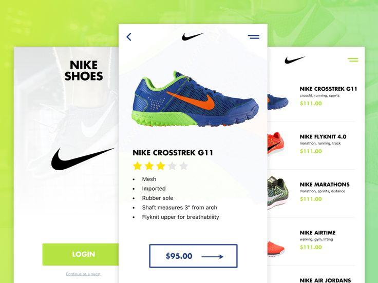Nike Shoes App