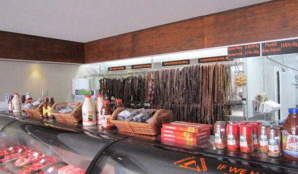 Biltong and droewors from Pinehill butchery
