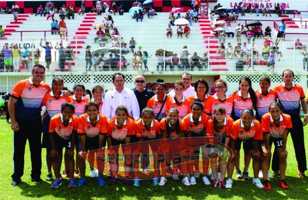 Q. Roo Campeón regional en futbol femenil