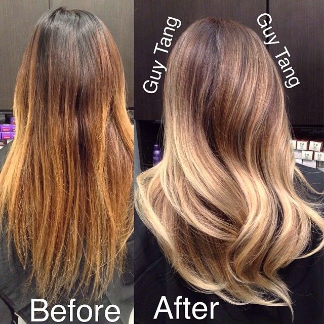 From ratchet to beautiful balayage ombre