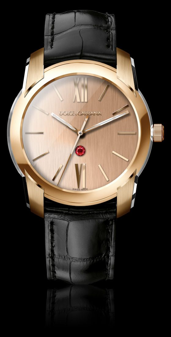 17 best images about dolce gabbana watches oviedo men gold watch gold pink dial and ruby d g watches dolce