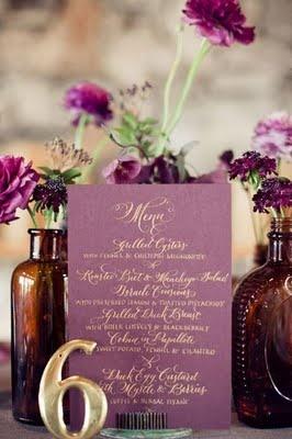 purple and gold, oh so pretty!