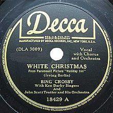 White Christmas (song) - Wikipedia, the free encyclopedia
