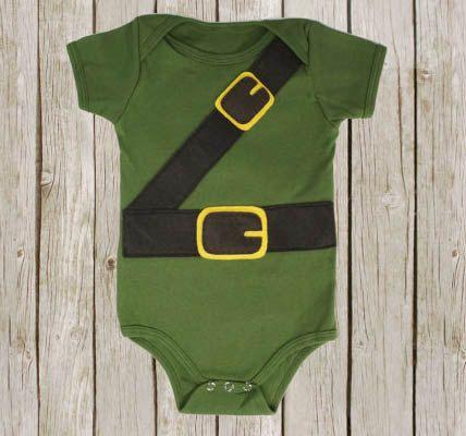 Link baby bodysuit, legend of zelda inspired snap suit for babies, boys babygrow on Etsy, $28.00 CAD