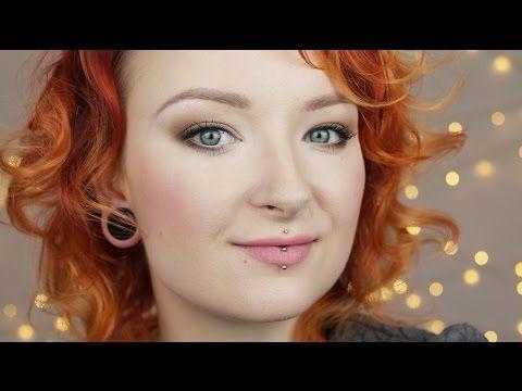 Rozświetlający makijaż powiększający oczy ♡ Red Lipstick Monster ♡ - YouTube