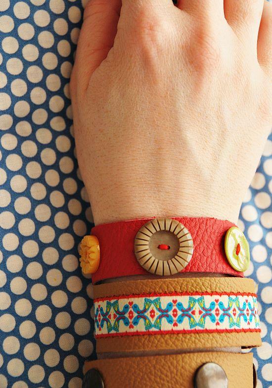 DIY leather bracelets - Jolijou