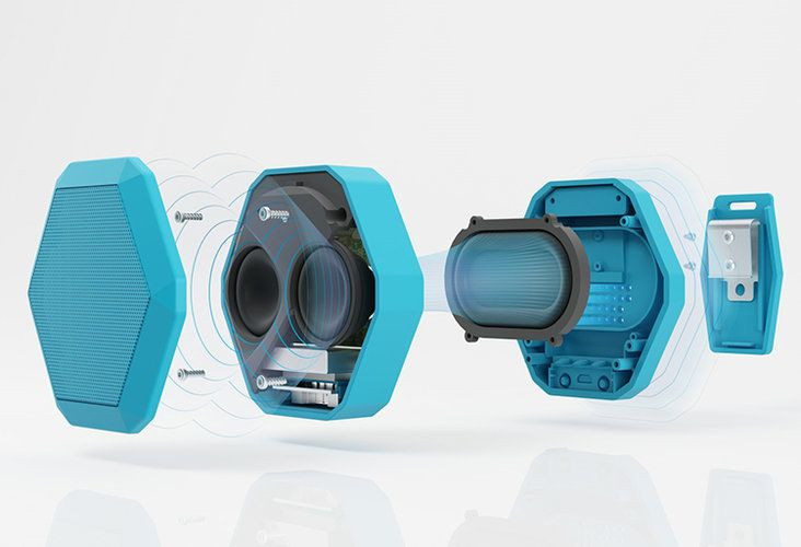 1 | A Rugged, Clip-On Speaker Takes Siri Out On The Trails | Co.Design: business + innovation + design